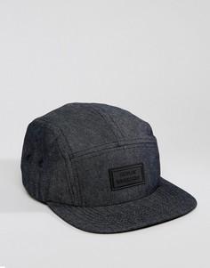 5-панельная джинсовая кепка Artsac Workshop - Темно-синий
