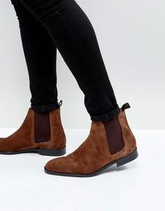 Бежевые замшевые ботинки PS by Paul Smith Gerald - Рыжий