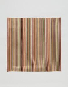 Классический платок для нагрудного кармана в полоску Paul Smith - Мульти