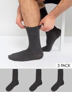 3 пары носков CR7 Cristiano Ronaldo - Серый