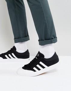 Черные кроссовки adidas Skateboarding Matchcourt F37383 - Черный