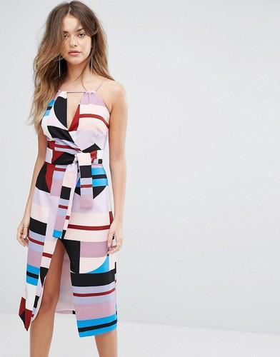 Платье-рубашка Lavish Alice - Мульти