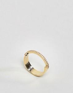 Кольцо ограниченной серии с камнями - Золотой Asos