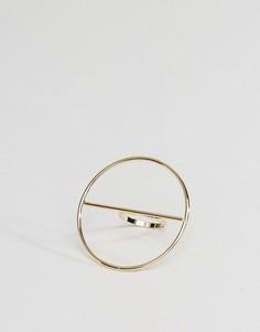 Незамкнутое кольцо ограниченной серии - Золотой Asos