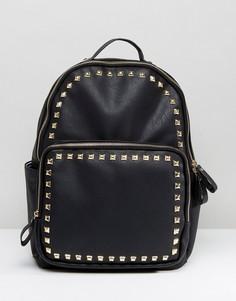 Рюкзак с заклепками Yoki - Черный