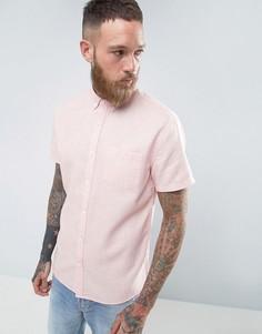 Фактурная рубашка Common People - Розовый