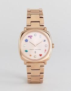 Часы цвета розового золота Marc Jacobs - Золотой