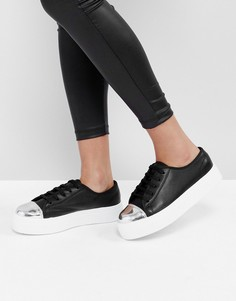Кроссовки на шнуровке ASOS DILLAN - Черный