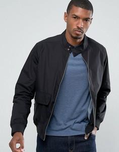 Легкая куртка с двумя карманами Threadbare - Черный