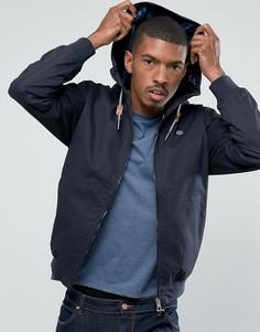 Куртка с капюшоном Threadbare - Темно-синий