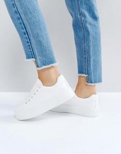 Кроссовки на шнуровке ASOS DAY LIGHT - Белый