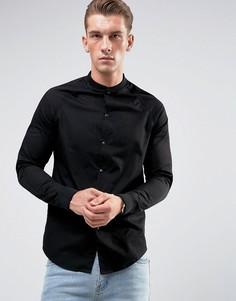 Рубашка с рукавами реглан Just Junkies - Черный