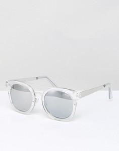 Солнцезащитные очки с прозрачными стеклами Quay Australia Brooklyn - Прозрачный