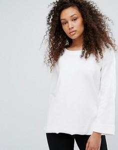 Блузка с расклешенными рукавами Moss Copenhagen - Белый
