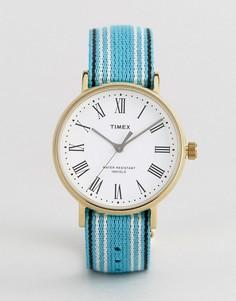 Двусторонние часы с белым циферблатом Timex Fairfield Avenue эксклюзивно для ASOS - Мульти