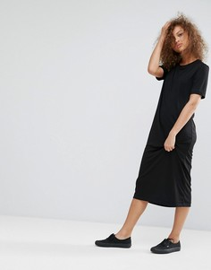 Платье миди Weekday - Черный