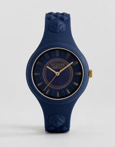 Часы с темно-синим силиконовым ремешком Versus Versace SOQ09 Fire Island - Темно-синий