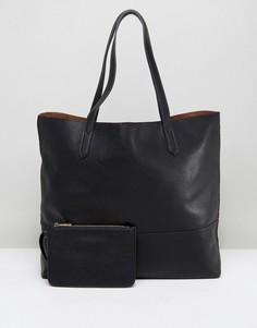Черная сумка-тоут Street Level - Черный