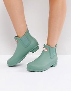 Ботинки челси Hunter Original - Зеленый