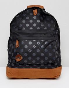 Рюкзак в горошек Mi-Pac - Черный