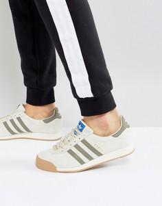 Бежевые кроссовки adidas Originals Samoa BY3161 - Бежевый