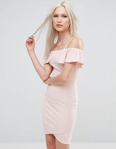 Облегающее платье AX Paris - Розовый