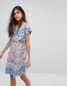 Платье-туника Yumi Valentine - Мульти