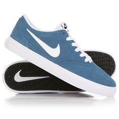 Кеды кроссовки низкие Nike SB Check Solar Industrial Blue