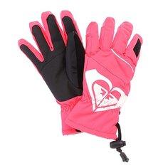Перчатки сноубордические женские Roxy Popi Girl Glove Diva Pink