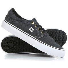 Кеды кроссовки низкие DC Trase Tx Se Real Black/Grey