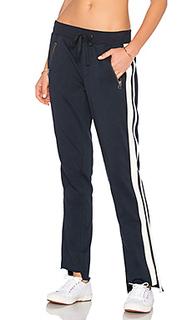 Спортивные брюки с полоской сбоку - Pam & Gela
