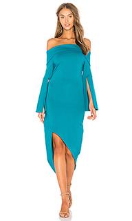 Платье со спущенными плечами spark - ELLIATT