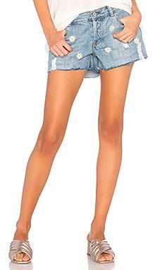 Джинсовые шорты с вышивкой jesse - Rails
