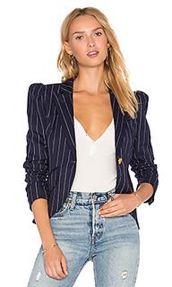 Пиджак на одну пуговицу с буфами на рукавах - Smythe