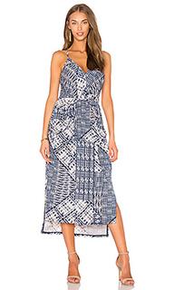 Миди платье с разрезом - BCBGeneration