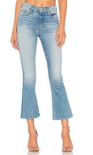 Укороченные джинсы с высокой посадкой brix - Hudson Jeans