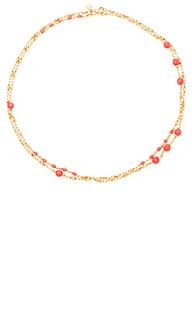 Ожерелье с фианитами sol - gorjana