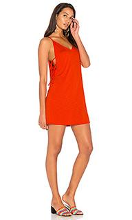 Платье с завязкой сбоку - Lanston
