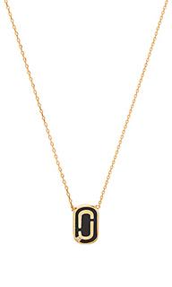 Ожерелье с эмалированным подвесом icon - Marc Jacobs