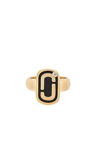 Кольцо с эмалевым покрытием icon - Marc Jacobs