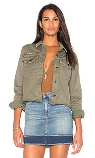 Укороченная куртка в армейском стиле - Joes Jeans