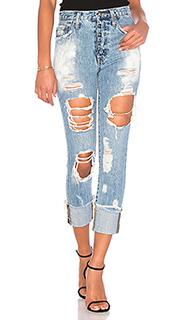 Рваные прямые джинсы amx - PRPS Goods & Co
