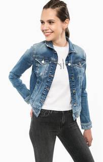 Джинсовая куртка на болтах Calvin Klein Jeans