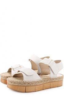 Кожаные сандалии на подошве с декором Paloma Barcelo