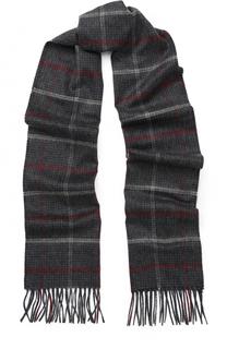 Кашемировый шарф в клетку Johnstons Of Elgin