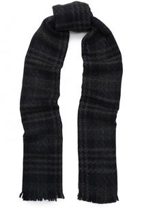 Кашемировый шарф с необработанным краем Johnstons Of Elgin