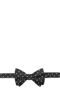 Шелковый галстук-бабочка с узором Neil Barrett