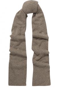 Кашемировый шарф тонкой вязки Johnstons Of Elgin