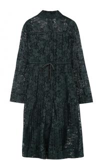 Кружевное мини-платье с завышенной талией See by Chloé