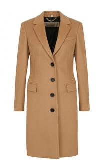 Приталенное шерстяное пальто Burberry